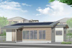 真岡の平屋戸建て住宅