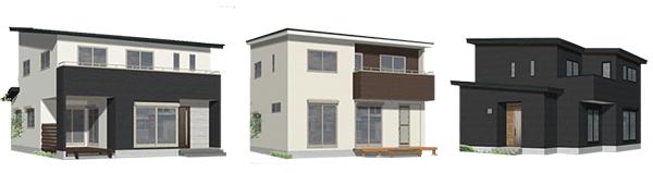 真岡の二階建て注文住宅